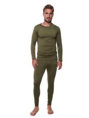 LEVEL 2 חליפה תרמית לגברים מיקרו-פליז