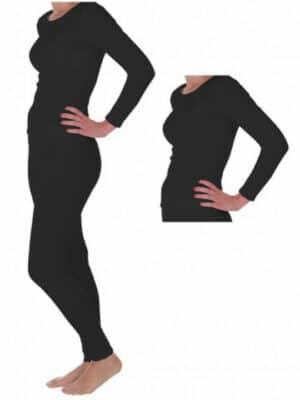 שתי חולצות + מכנס תרמי מיקרו פליז לנשים