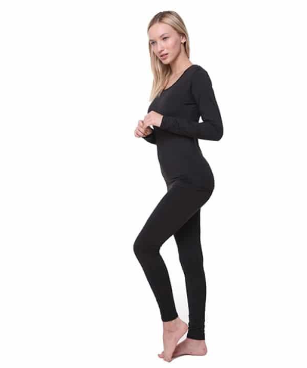 LEVEL 2 חליפה תרמית לנשים מיקרו-פליז