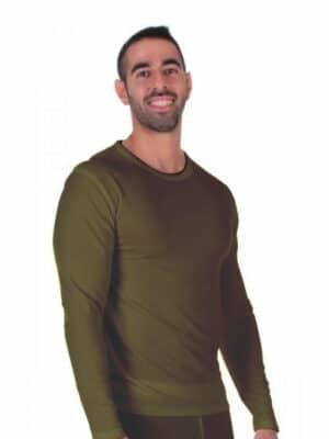 2 חליפות ירוק זית לגבר LEVEL 3