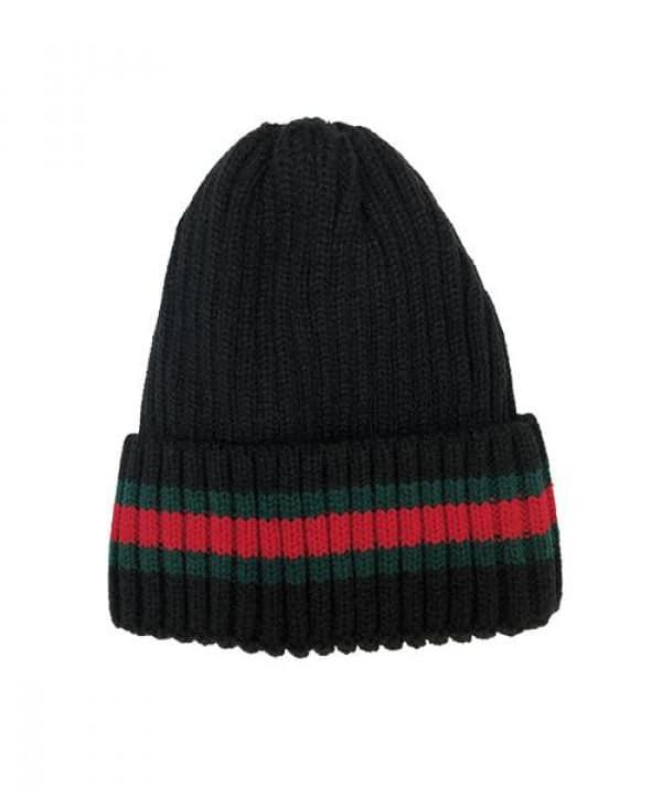 כובע צמר פסים